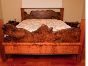 Custom bed by Greg Gagnon