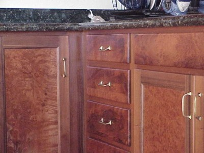 Redwood Burl Kitchen